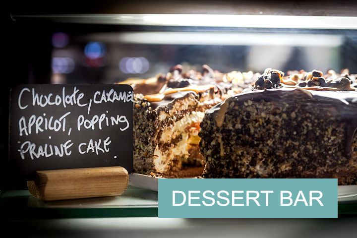 The Dessert Bar for cakists.